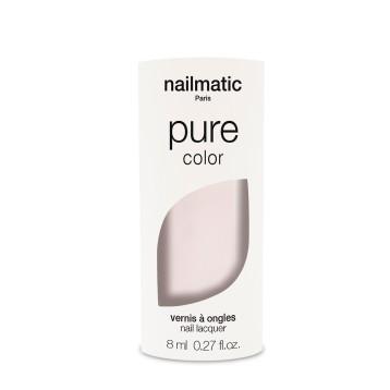 Vernis à ongles biosourcé - blanc rosé - Jeanne