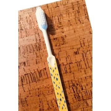 Brosse à dents à tête rechargeable wax jaune