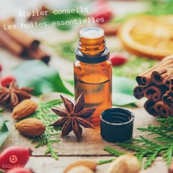 Samedi 7 Décembre - Atelier conseils - Les 6 huiles essentielles de l'hiver