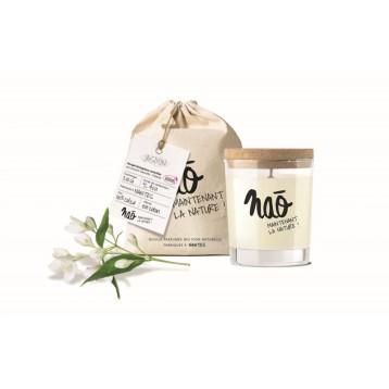 Bougie parfumée naturelle 30h - Jasmin
