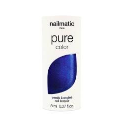 Vernis à ongles biosourcé - bleu électrique nacré - Azul
